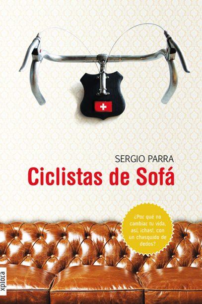 portada ciclistas de sofa de sergio parra