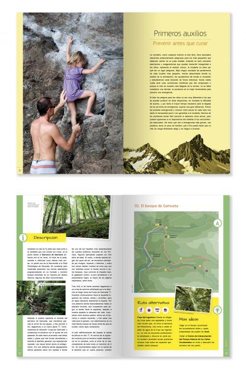 sample rutas con niños en el pirineo aragones xplora